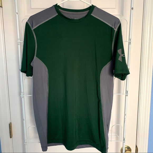 Under Armour Other - Under Armour Heat Gear Green Compression Shirt